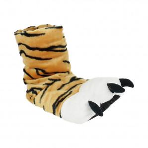 Damen und Kinder witzige Tier Hausschuhe Tiger Tatze