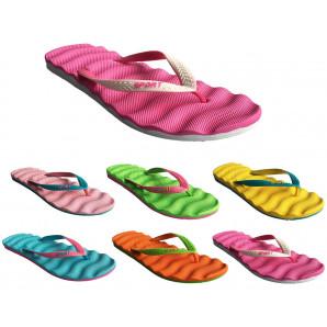 damenzehentrenner flip flops in verschiedenen farben