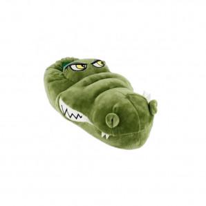 tier hausschuhe plüsch krokodil
