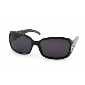 damen sonnenbrille mit strass in schwarz