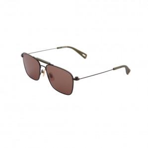 Gstar Pilotensonnenbrille mit braunen gläsern und gestell