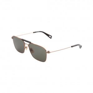 Gstar Pilotensonnenbrille mit grünen gläsern und gestell