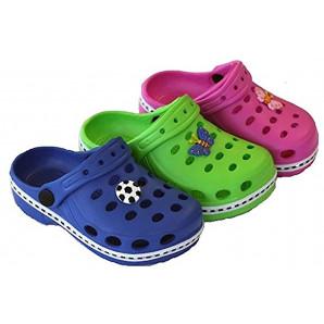 süße kinderclogs in 3 farben