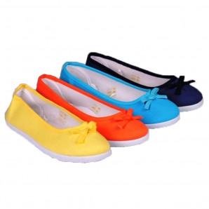 damen leinenschuhe ballerinas in 4 farben