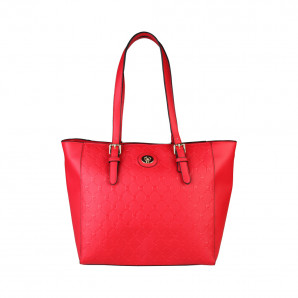shopperbag von pierre cardin in rot