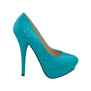blaue high-heels von jennika
