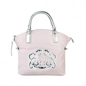 Versace Designer Damen Handtasche pink/silber