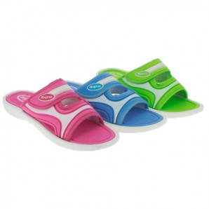 damen Badelatschen in 3 farben