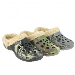 Herren Crocs Clogs warmfutter