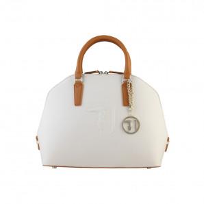 beige Designer Damen Handtasche von Trussardi