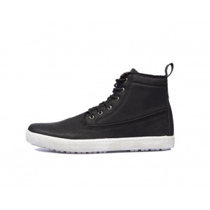 schwarze herren sneaker high-top