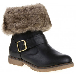 Schuhzoo - Damen Stiefeletten Stiefel Gefüttert Größe 36 37 38 39 40 41