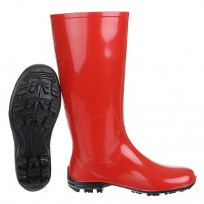 Schuhzoo - Damen Gummistiefel Regenstiefel NEU Rot Größe 37-42