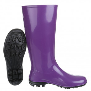 Schuhzoo - Damen Gummistiefel Regenstiefel Lila Größe 37-42