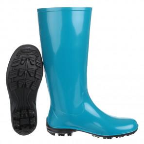 Schuhzoo - Damen Gummistiefel Regenstiefel Blau Größe 37-42