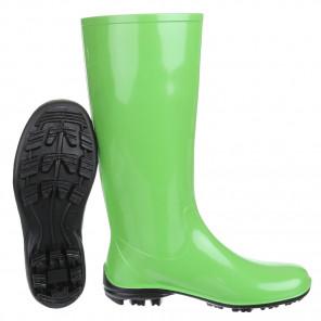 Schuhzoo - Damen Gummistiefel Regenstiefel Grün Größe 37-42