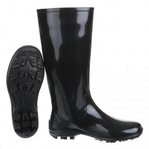 Schuhzoo - Damen Gummistiefel Regenstiefel NEU Schwarz Größe 37-42