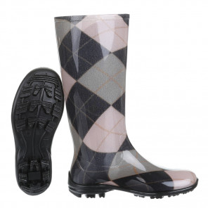 Schuhzoo - Damen Gummistiefel Regenstiefel Multicolor Größe 37-42