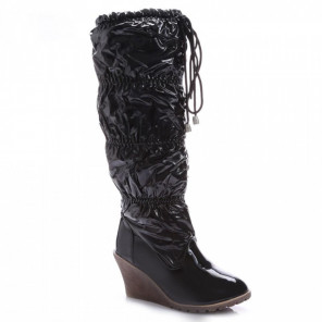 Schuhzoo - Keilabsatz Stiefel