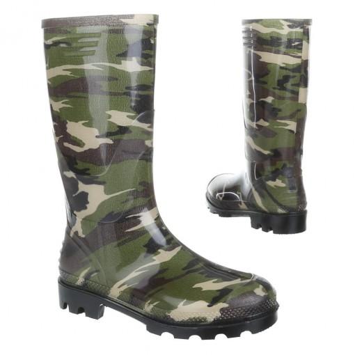 Designer Damen Regenstiefel Gummistiefel Stiefel NEU Leopard Army Camouflage