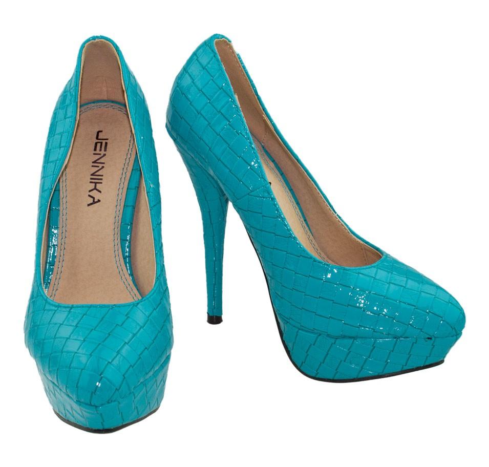 sexy high heels plateau pumps blau neu gr 36 37 38 39 40 41 ebay. Black Bedroom Furniture Sets. Home Design Ideas