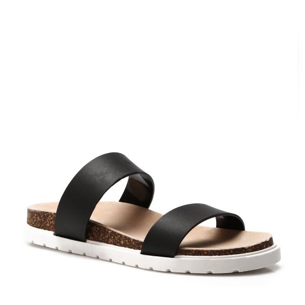 damen plateau sandalen korkabsatz profilsohle schwarz wei t rkis beige neu ebay. Black Bedroom Furniture Sets. Home Design Ideas